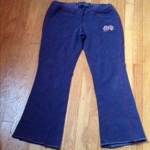 Vintage Aeropostale navy blue wide leg sweatpants
